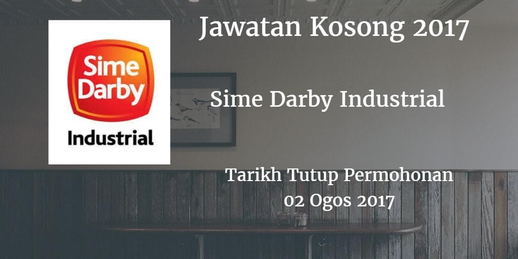 Jawatan Kosong Sime Darby Industrial 02 Ogos 2017