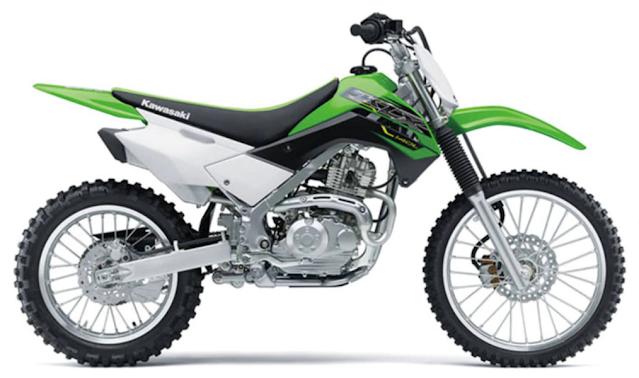 harga Motor Kawasaki KLX 140