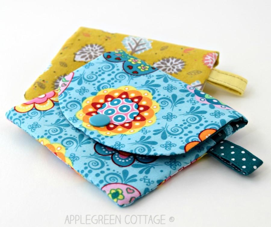 Coin Purse Pattern With Zipper Pocket - AppleGreen Cottage