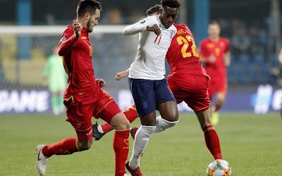 بث مباشر مباراة إنجلترا والجبل الأسود