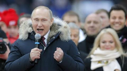 Levada: 70 százalékos Putyin támogatottsága