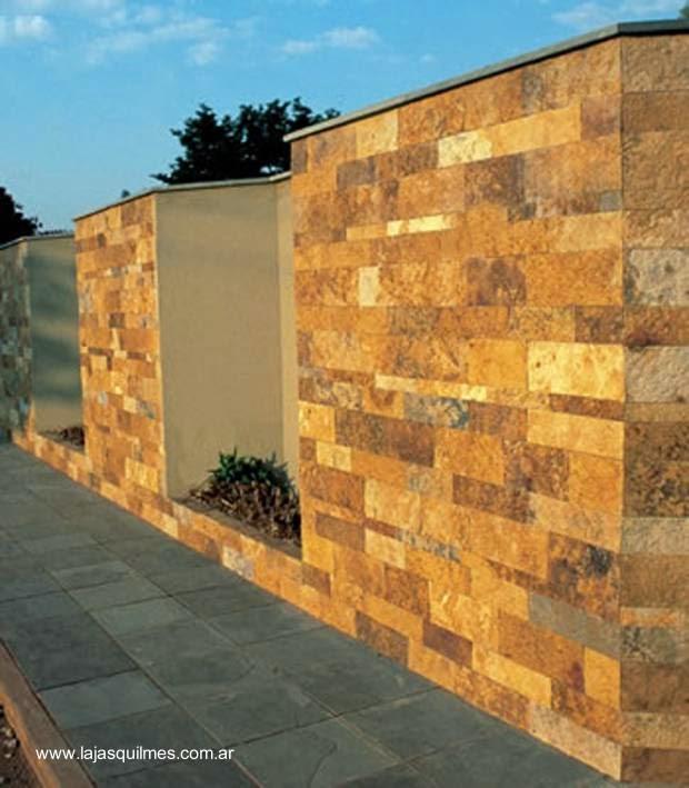 Arquitectura de casas fachadas con piedra morisca en argentina - Precio de piedra para fachada ...