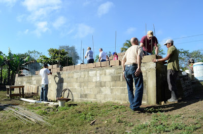 Photos from the First Day of Building