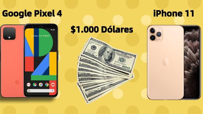 Sorteio de $1.000 dólares ou iPhone 11 ou Google Pixel 4 ou uma viagem para a Costa Rica