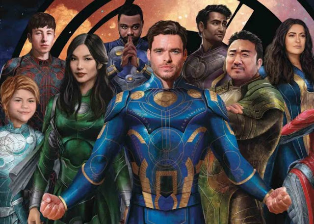 Photo of the Eternals Team in a 16-Month 2022 Calendar