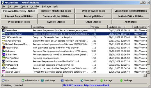 NirLauncher 1.20 - Πάνω από 200 χρήσιμες δωρεάν εφαρμογές σε ένα πακέτο