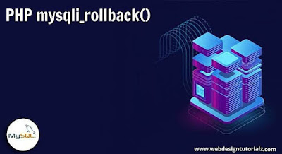 PHP rollback() Function