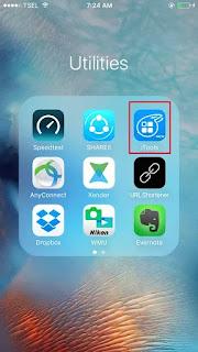 Cara Mudah kirim foto dan Video di Iphone