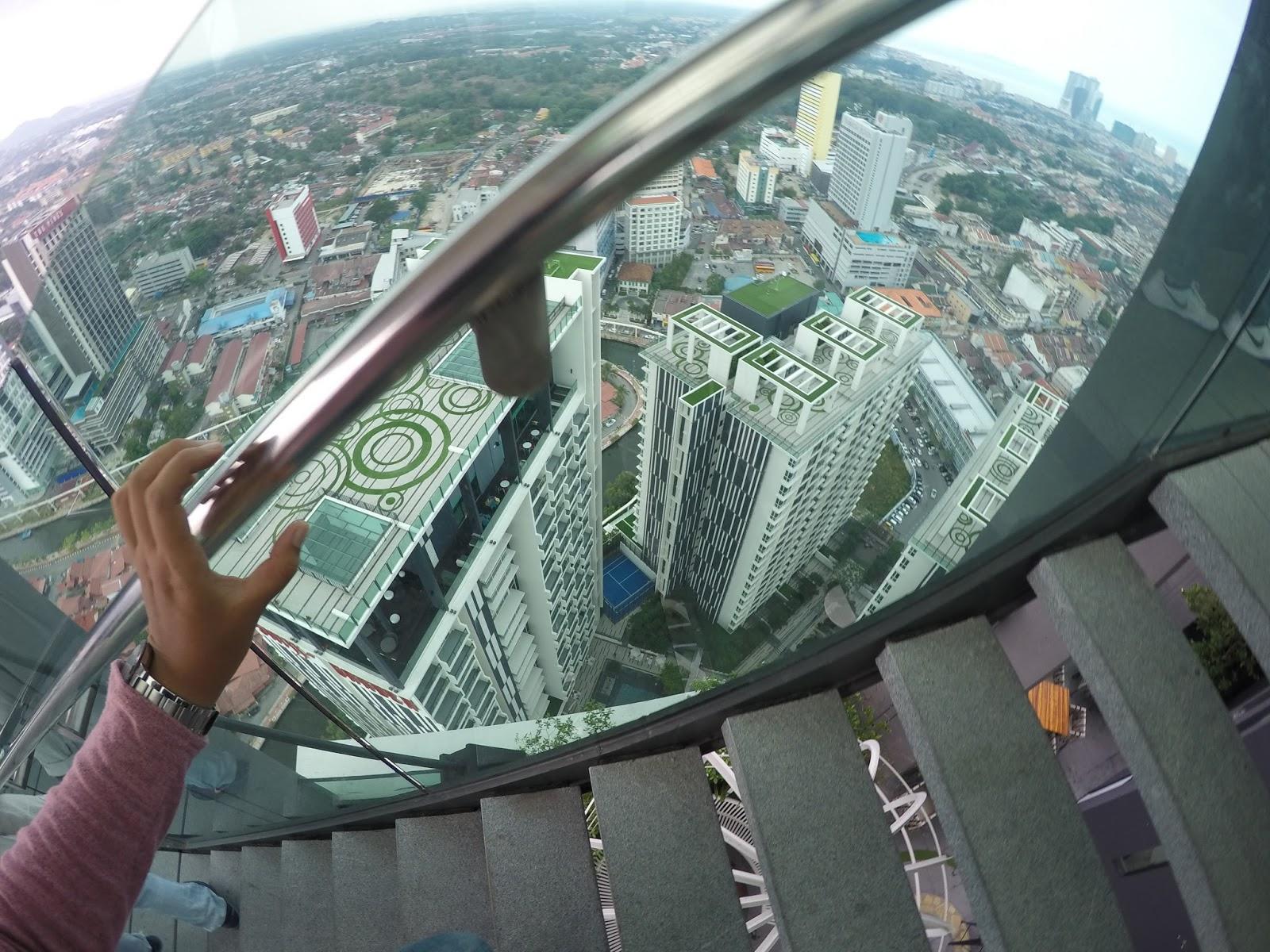 Pemandangan dari Sky Tower Melaka