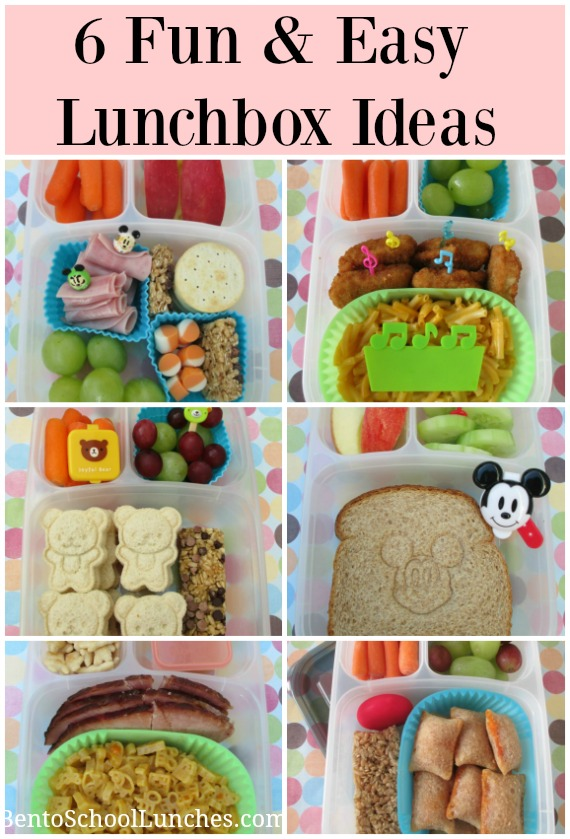 6 Fun & Easy Lunchbox Ideas