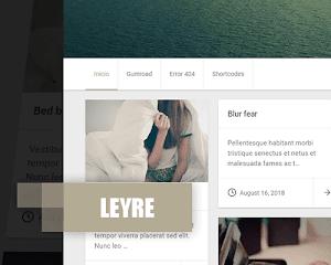 Leyre - plantilla responsive para blogger