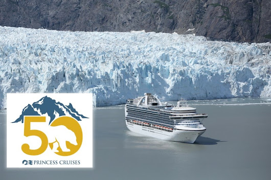 The No. 1 Cruise Line in Alaska will send its largest ship, the Royal Princess, on Voyage of the Glaciers Alaska Sailings. Come celebrate its 50th year of cruising to Alaska in 2019.
