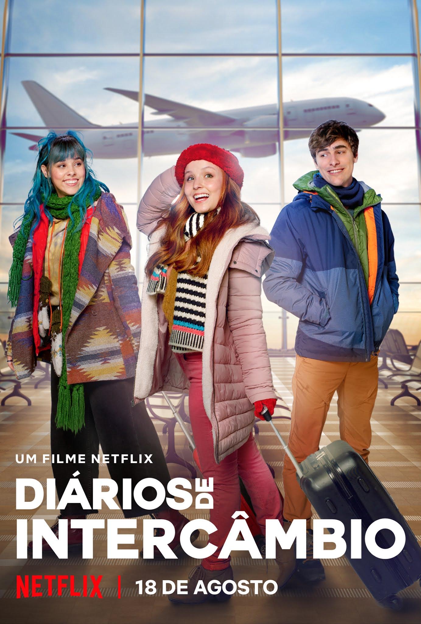 Com Larissa Manoela e Thati Lopes 'Diários de Intercâmbio' chega em agosto na Netflix