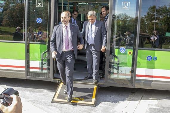 6 nuevos autobuses híbridos para las líneas 567 y 658 de interurbanos