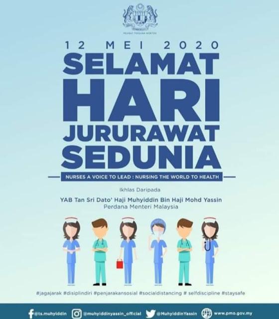 SELAMAT HARI JURURAWAT SEDUNIA