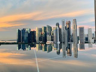 Infinity pool, JW Marriott Singapore Beach Road, 2021