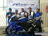 Yamaha DDS 3 Targetkan Penjualan 1.000 Unit All New R15 Tiap Bulan