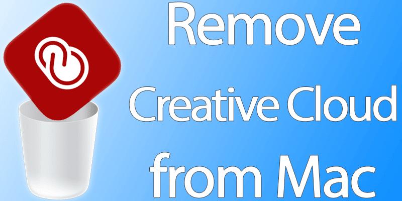 uninstall creative cloud from mac