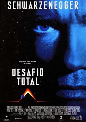 Desafío total, Total recall, Paul Verhoeven, Arnold Schwarzenegger, Philip K. Dick, Sharon Stone, Michael Ironside