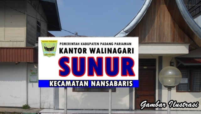 Kantor Walinagari Sunur Dibangun Baru di Padang Kabau