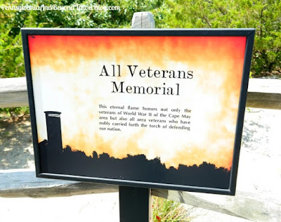 All Veterans Memorial in Cape May, New Jersey