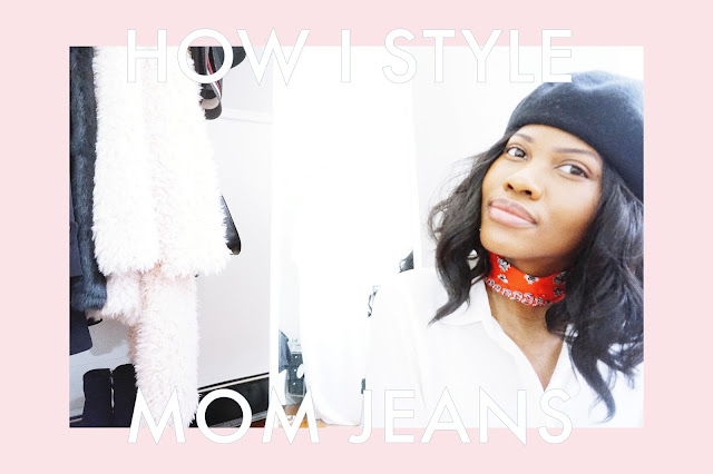 How I Style Mom Jeans