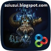Blaze GO Launcher Theme apk Download