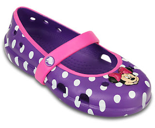 Crocs Minnie Flats ONLY $10.49...
