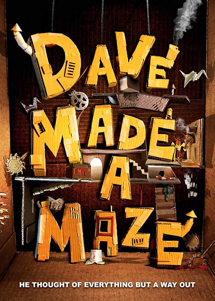 Xem Phim Dave Tạo Ra Mê Cung - Dave Made a Maze