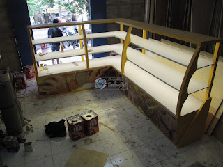 Produsen Furniture Interior Pertokoan (Etalase Display)