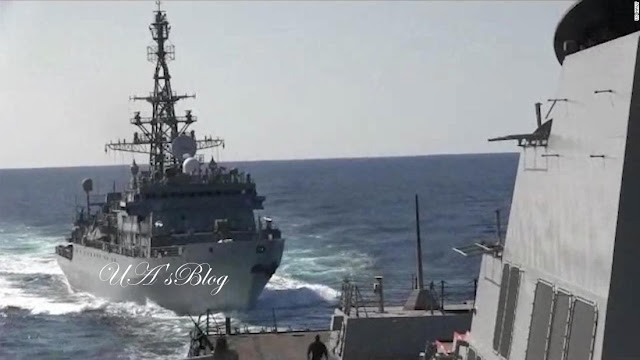 BREAKING!!! Russian Warship 'Aggressively Approached' US Destroyer In Arabian Sea