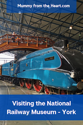 Review of our visit with teenagers to the National Railway Museum in York. It's a fabulous free day out.