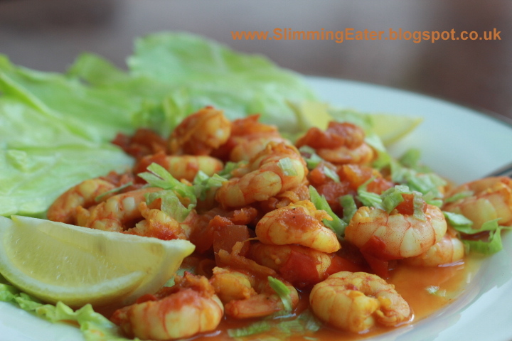 Slimmingeater Southern Indian Prawn Curry