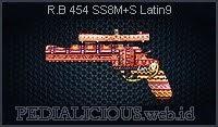 R.B 454 SS8M+S Latin9