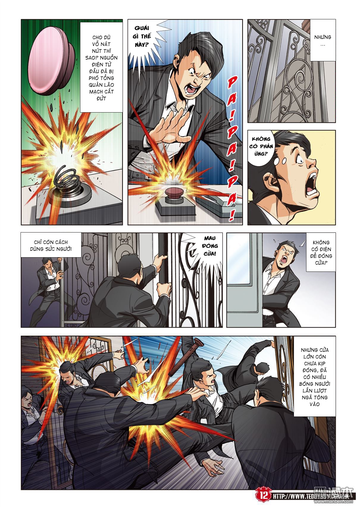 Người Trong Giang Hồ chapter 2067: ánh tỉ làm phản trang 10