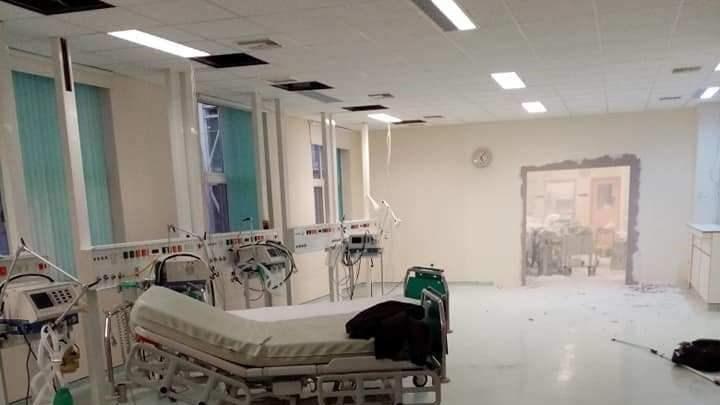 Αλεξανδρούπολη: Γκρεμίζουν τοίχους στο Νοσοκομείο για να φτιάξουν νέα ΜΕΘ