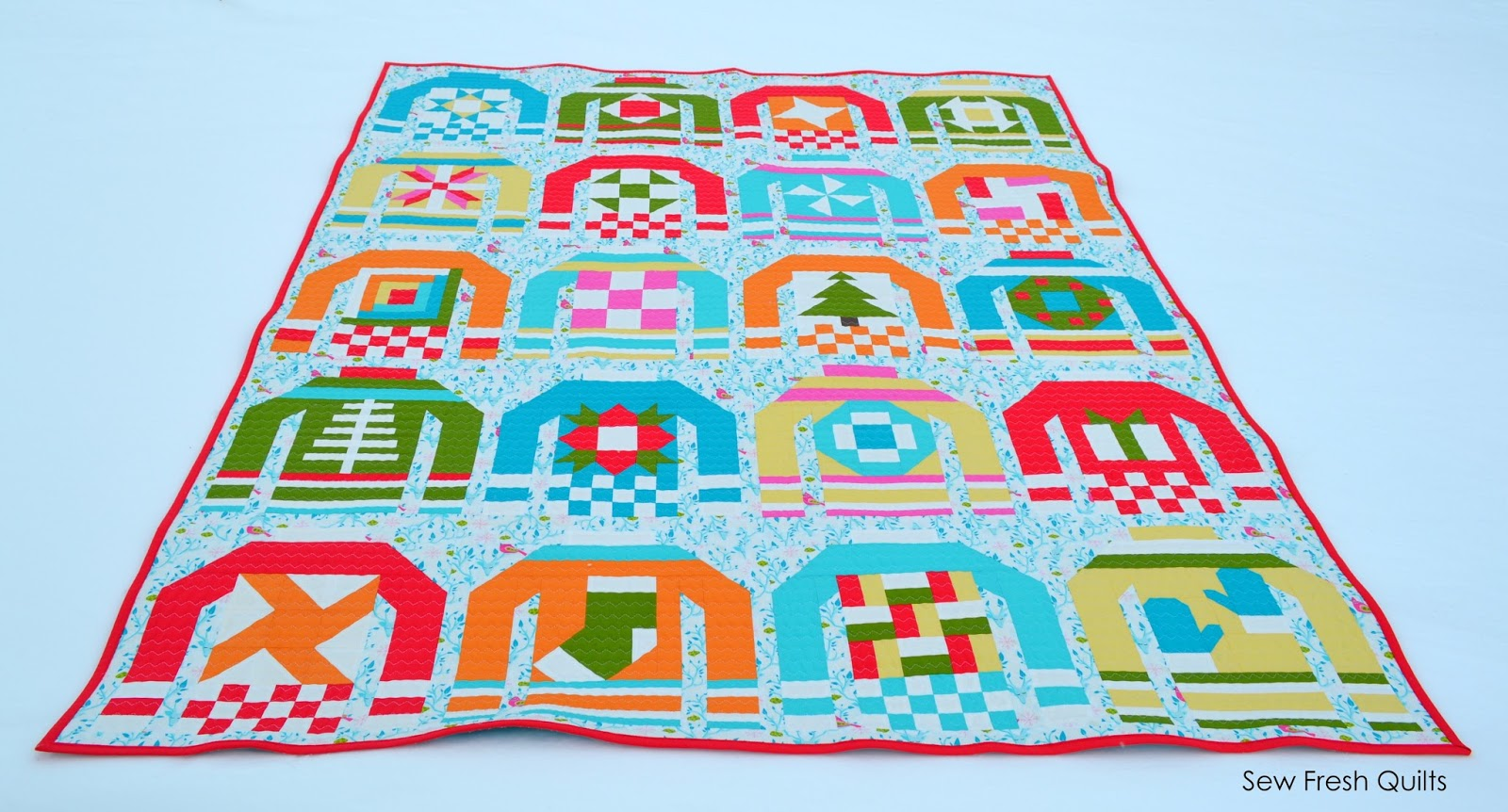 Sew Fresh Quilts Ugly Christmas Sweaters First Finishes