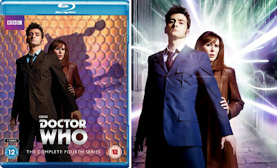 10th Doctor blue suit colored brown for season 4 Blu-Ray