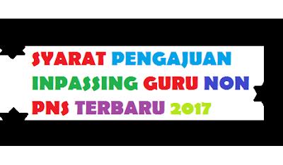GAMBAR syarat inpassing guru non pns Terbaru 2017/2018