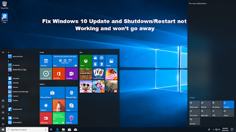 How to Fix Windows 10 Update and Shutdown/Restart not Working and won't go away?