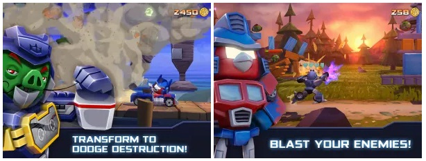 Download Game Angry Transformers Apk