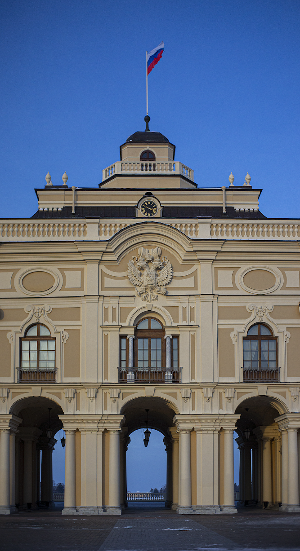Window to Europe Strelnya Constantine Palace Palace of Congresses photo Igor Novik