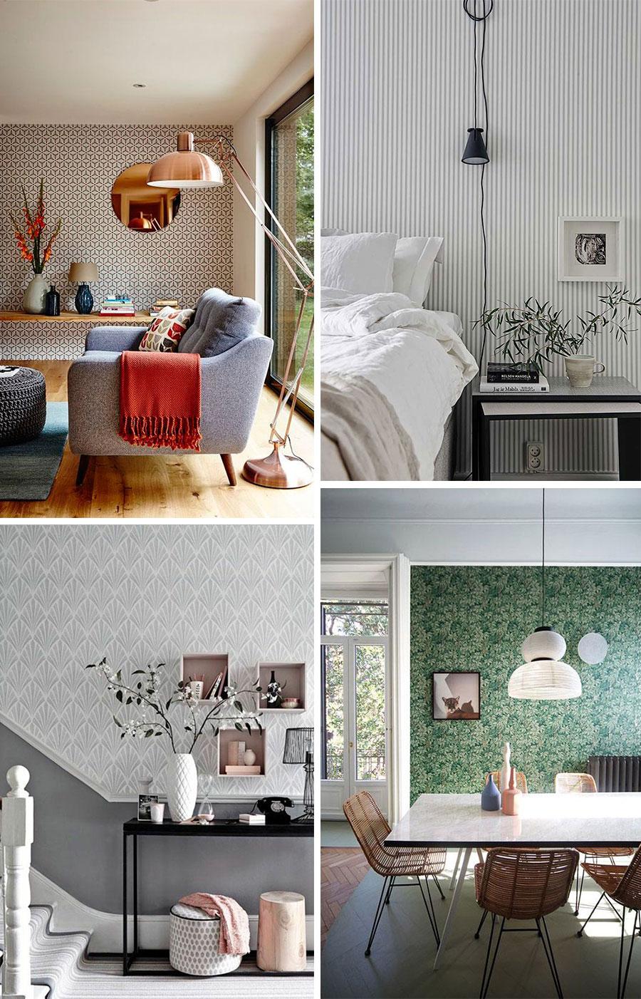 Blog de moda y lifestyle decorar con papel pintado - Decorar papel pintado ...