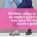Melissa anuncia retorno do sapato que foi mania nos anos 90: veja as 4 cores e preço!