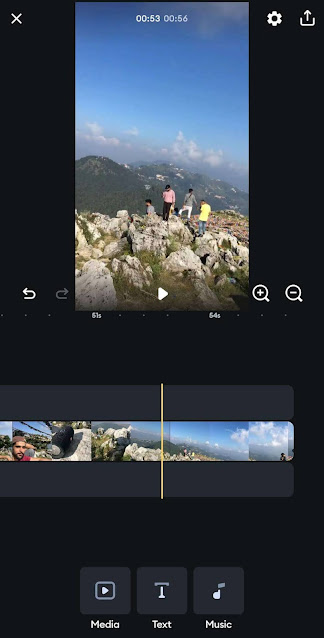 Splice video editing app for Instagram reels
