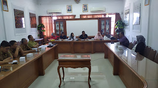 Komisi III DPRD Kota Cirebon Audiensi Dengan Korban PHK PT. Panjunan Dan Disnaker