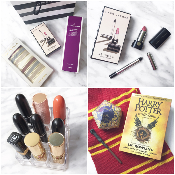 bbloggers, bbloggersca, canadian beauty bloggers, instagram, instamonth, sephora birthday gift 2016, marc jacobs, harry potter