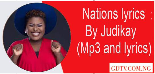 Nations lyrics by Judikay