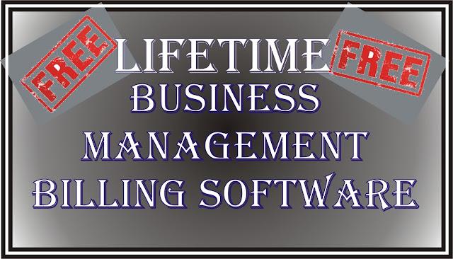 Free Billing Software Lifetime Free