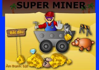 Game Mario đào vàng thú vị